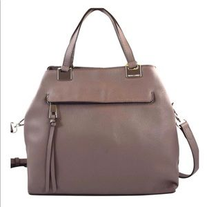 NWOT VINCE CAMUTO ROSIE LEATHER SATCHEL